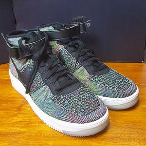 f8d8579b38dec1 Nike Shoes - Nike Air Force 1 Mid Ultra Flyknit Pink Blast AF1